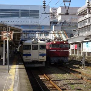 貨物列車 ED76 1017<鹿児島中央駅>