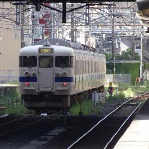 415系 普通列車 Fk514編成<鹿児島中央駅>