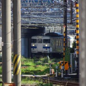 415系 普通列車 Fk513編成<鹿児島中央駅>