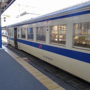 キハ47型 普通列車 キハ47-8126+キハ47-8121編成<佐賀駅>