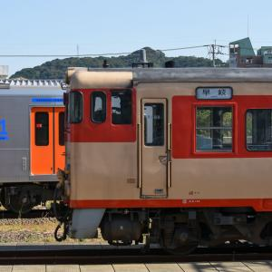 キハ66-110+キハ67-110<早岐駅>