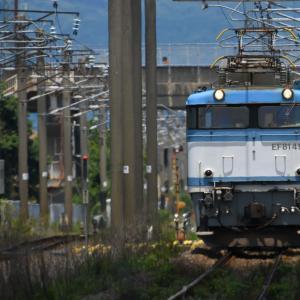 EF81 453 貨物列車<伊賀屋-佐賀>