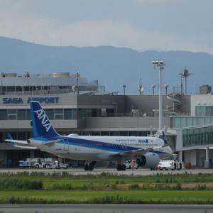 JA214A 全日空 Airbus A320neo<佐賀空港>