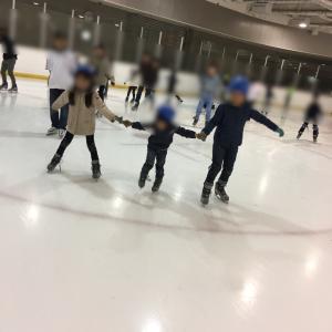 体育の日でスケート無料♪
