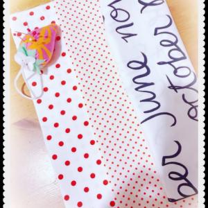 布、買っちゃった~☆赤×白キルト