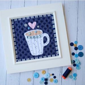 コーヒーカップのパターン☆