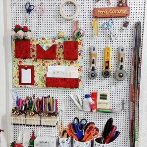 アップリケ & 裁縫道具の収納☆