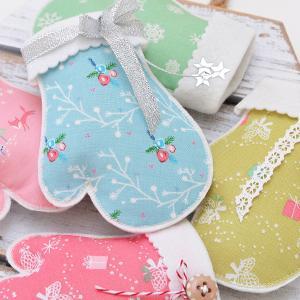クリスマスのミトン&デコレーション☆