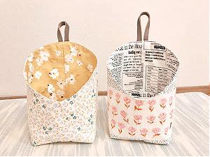 小物入れ、二個め☆バッグの持ち手アイデア