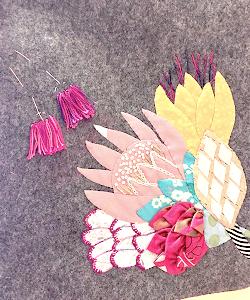 フサフサのお花☆グラニースクエア