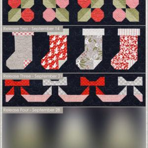クリスマスキルト企画 ☆ Week3