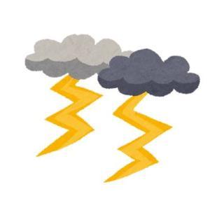 職場に姑からの電話。雷と大雨の中慌てて帰宅