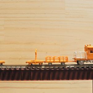 グリーンマックス 鉄道施設シリーズ 保線区車両と詰所ー4 大体完成