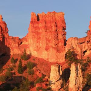 ロック・アラウンド・ザ・ロック!アメリカユタ州!フードゥーと呼ばれる石灰石の石柱!