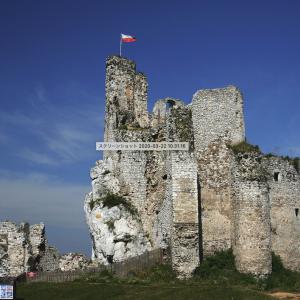 失われた城を求めて!ポーランド南部の・ミルフ城!全ての古城がまるでワシの巣!!