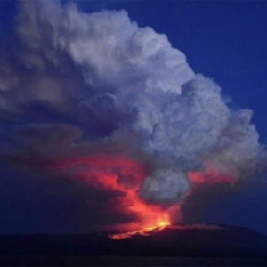 イザベラ島!ガラパゴス諸島の大きな島!6の火山があり70-100万年前に形成!