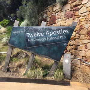 海の上の十二使徒!トゥエルブ・アポストルズ!オーストラリア・ビクトリア州!!