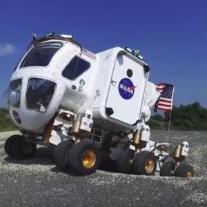 ウルトラ重機・サターンVロケット!火星探査重機!果たして火星に行けるだろうか?