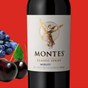 モンテス・クラシック・シリーズ・メルロ!これはとても美味いお勧めです!エノテカ!