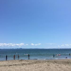海に行って来たよ(^^)