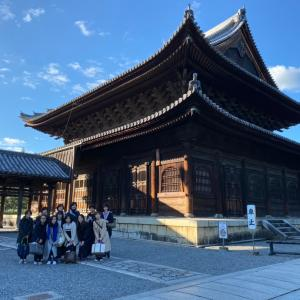 【大人のヨガ遠足  in. 妙心寺】とてもよい一日でした。