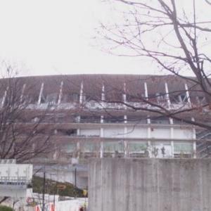 新国立競技場・・・