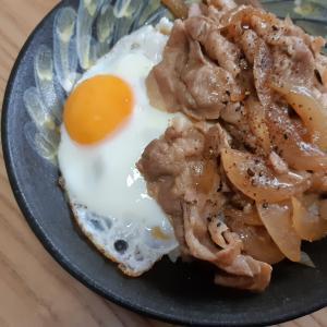パパめし「マヨ豚丼」