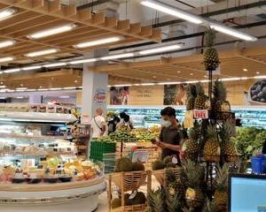 まるで日本のスーパーにいるみたい!
