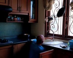 台所シンクの修理