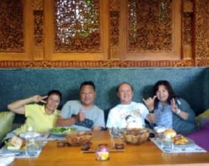 バリ島・星のやのレストラン