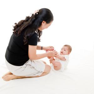 HappyBabyコースから幼児コースに入るお子さんが増えています。やはり良いですね。