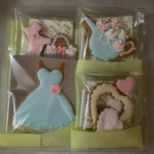 アイシングクッキーオーダー…お子さまへのプレゼントに