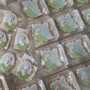 アイシングクッキー販売…ゴルフのデザインを大量製作