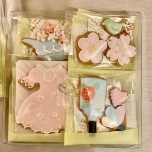 アイシングクッキー販売…お正月用のプレゼントに