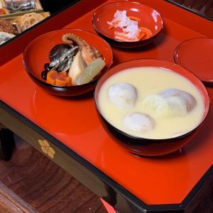 京都…お雑煮は昔ながらのお膳でお祝いします