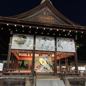 京都…閉門直前の下鴨神社へ初詣…人混みを避けて