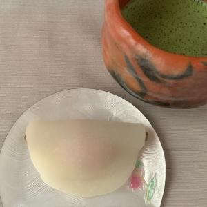 京都長久堂の花びら餅
