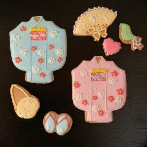 アイシングクッキー自宅販売に向けて…お正月のデザイン