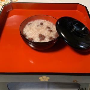 今日は小正月…小豆粥を食べてからアイシングクッキーの自宅販売