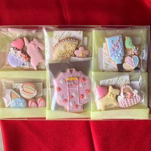 アイシングクッキー販売…先日発送したセット