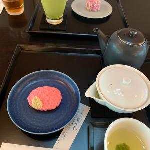 京都…虎屋茶寮さんでお茶