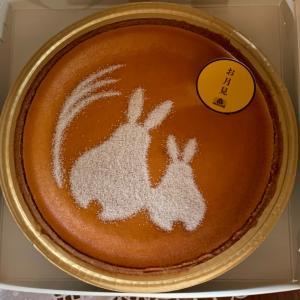 モロゾフのお月見デンマーククリームチーズケーキ