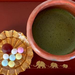 秋らしい…お抹茶が心地良い日常