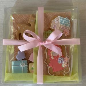 アイシングクッキー…赤ずきんちゃんのセット