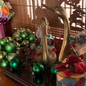心豊かな暮らし…クリスマス仕様の玄関