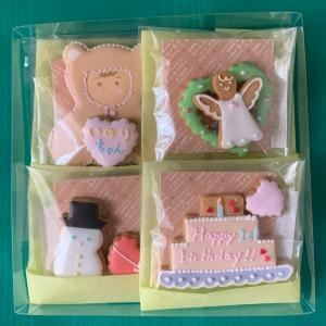アイシングクッキーオーダー…女の子のお誕生祝い