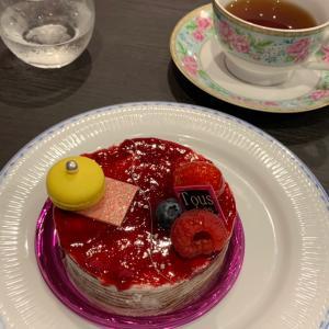京都トゥレドゥさんでケーキ付きの小さな音楽会