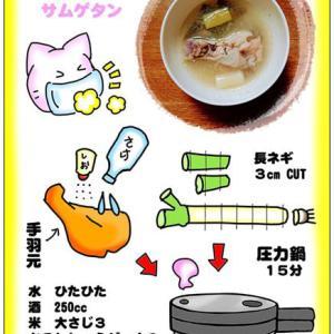 参鶏湯(サムゲタン)の作り方♪