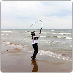 「シロギス釣り始めました」