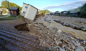 白駒の池や駒出池キャンプ場がある長野県佐久穂町の台風19号による被災状況